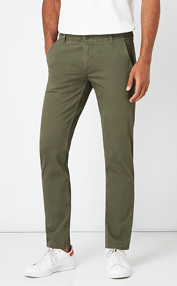 Regular Fit Chinohose, Straight